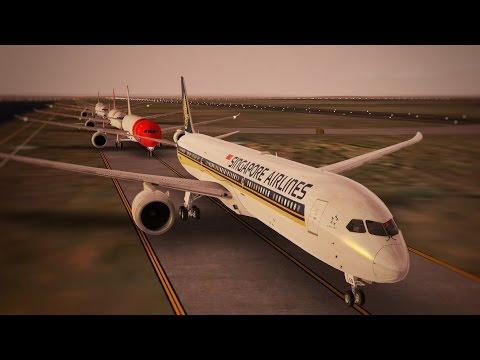 Infinite Flight Boeing 787 - 10 Singapore Airlines Sydney Region
