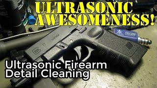 Ultrasonic Gun Detail Cleaning & Froglube Procedure (in HD)
