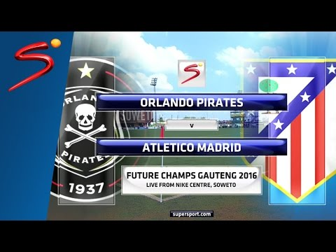 GFC U-17 Semifinal 2: Orlando Pirates vs Atlético de Madrid
