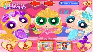 Game công chúa Disney hóa thân thành 3 cô gái siêu nhân | game online
