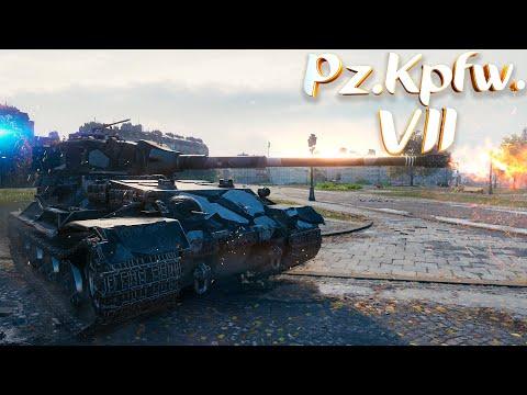 Pz.Kpfw. VII - 8.6K Damage - 8 Kills - World Of Tanks Pz.Kpfw. VII Gameplay