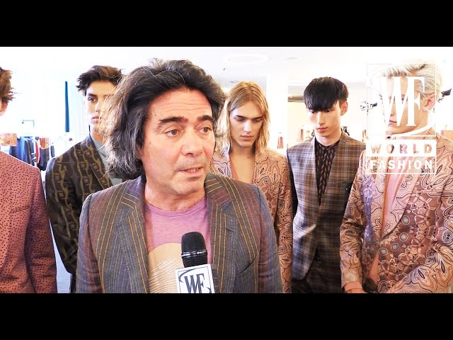 Etro Spring-Summer 2016 Milan Mens Fashion Week
