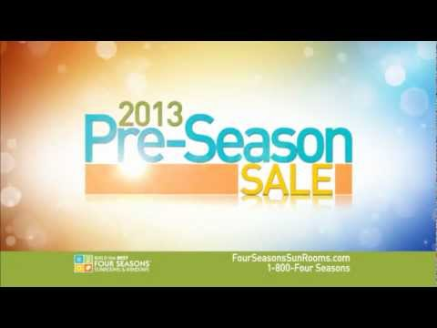 Four Seasons Sunrooms & Windows - January 2013 Pre-Season Sale!