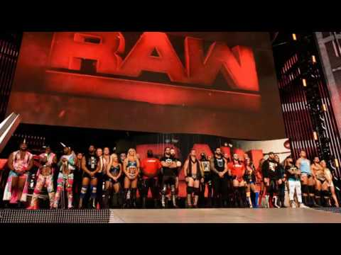 """WWE Raw 2016 New Official 14th Theme Song for 30 minutes """"Enemies by Shinedown"""""""