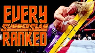 Every WWE SummerSlam Ranked From Worst To Best