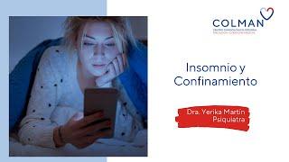 Insomnio y  confinamiento