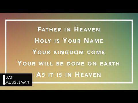 THE LORD'S PRAYER - Piano Instrumental With Lyrics - Hillsong Worship - THERE IS MORE
