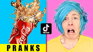 7 HILARIOUS TIK TOK PRANKS TO TRY ON YOUR FRIENDS | PRANK WAR WITH ROBBY