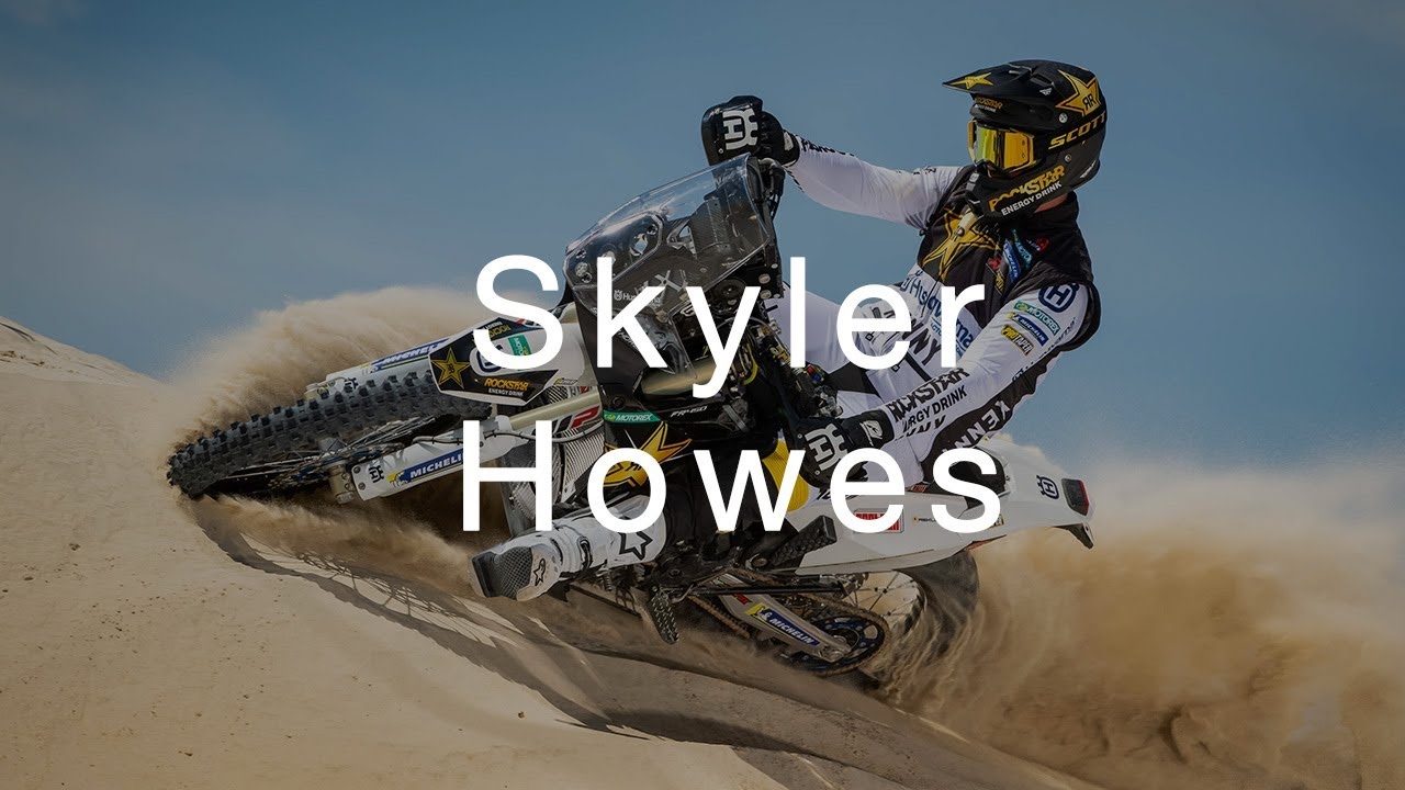 From privateer to factory rider: Skyler Howes rally season preview | Husqvarna Motorcycles
