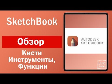 Sketchbook. Обзор. Кисти, инструменты и функции
