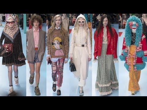 1c7060851 GUCCI FALL WINTER 2018 2019 READY TO WEAR MODA   Haute Couture    Kazy-godsaker   [164.20.32]