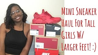 Mini Sneaker Haul For Girls With Larger Feet! :)