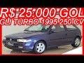 PASTORE R$ 25.000 Volkswagen Gol GLi Turbo 1995 Azul aro 15 MT5 FWD 1.8 8v Álcool 250 cv #VWGol