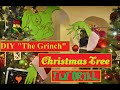 DIY Grinch Christmas Tree