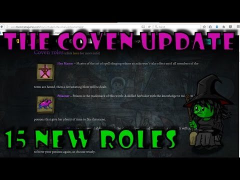 The Coven Update | 15 New Roles Coming to Town of Salem In New Update