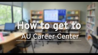 How to Find the Career Center