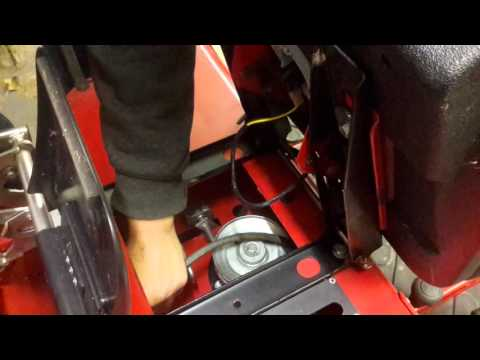 countax pto drive belt replacement youtube rh youtube com