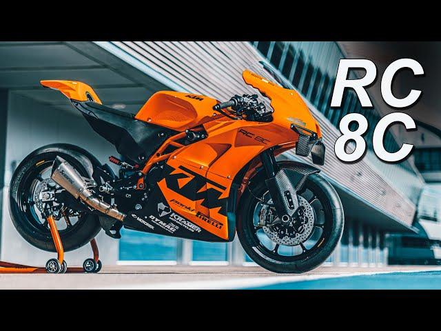 2022 KTM RC 8C Racer   $39k   Only 100