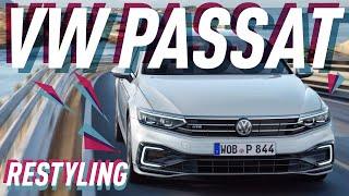 VW Passat 2019 на  Женевском автосалоне