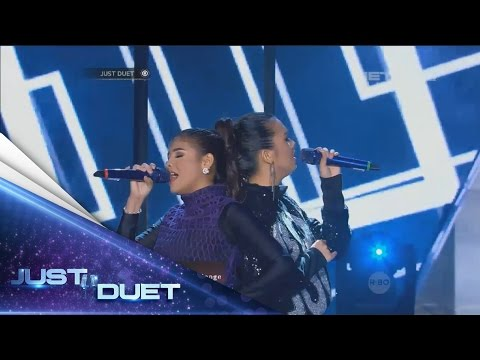 Such a mature performance by Sara & Putri Ayu sings Tulus's Sepatu! - Live Duet 05 - Just Duet