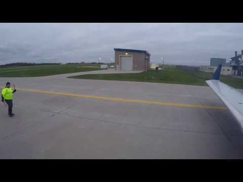 Delta Air Lines CRJ-200 Full Flight from Appleton to Minneapolis