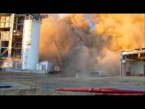 Duke Energy Cape Fear Plant Precipitator Implosion