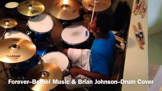 Forever-Bethel Music & Brian Johnson-Tides (Drum Cover)