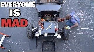 Here's how I'm Building an electric rat rod in my basement