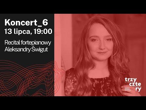 """5. Festiwal muzyczny """"TRZY-CZTE-RY Konteksty. Kontrasty. Konfrontacje."""" 2020 - KONCERT 6."""