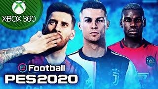 """🎮 """"NOVO"""" PES 2020 Refeito no XBOX 360 😱 100% Atualizado: Ligas novas,faces,estádios e muito mais!"""