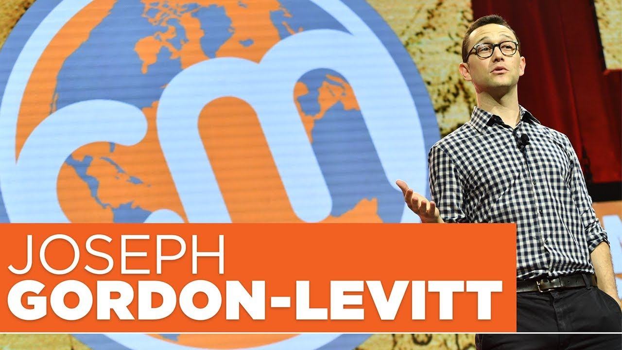 Content Marketing World 2017 Keynote - Joseph Gordon Levitt - YouTube