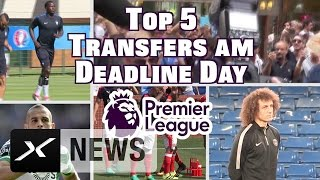 Deadline Day: Die Top5 Last-Minute-Transfers der Premier League | Premier League