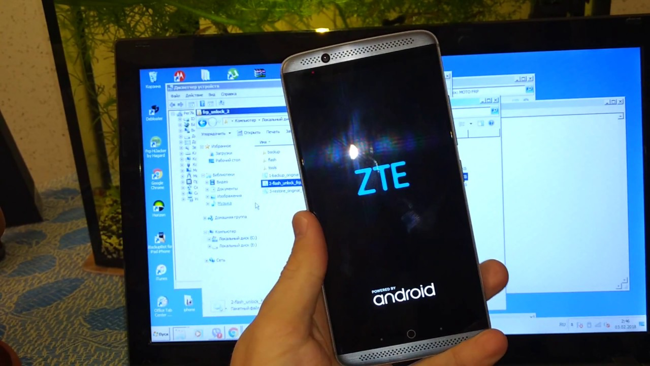 ZTE Axon 7 Android 7 Google Account Locked (FRP) Bypass