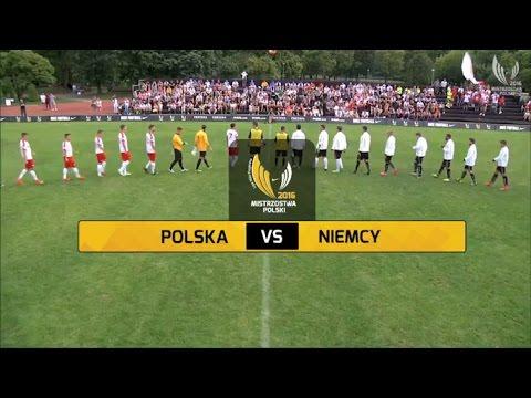 POLSKA - NIEMCY 4:1 (1:0) piłka nożna 6-osobowa