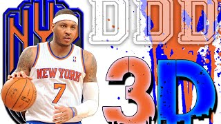 3D - Carmelo Anthony: 3 Crucial Facets To NYK Success - Dimes, Drives, Defense