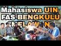 Mahasiswa Desak Rektor UIN FAS Bengkulu Sanksi Warek III