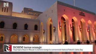 ROHM turns orange to commemorate National Patient's Safety