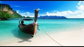 Calming waves relaxing sea wave sounds tranquil beach paradise calming water noise for sleeping FX thumbnail