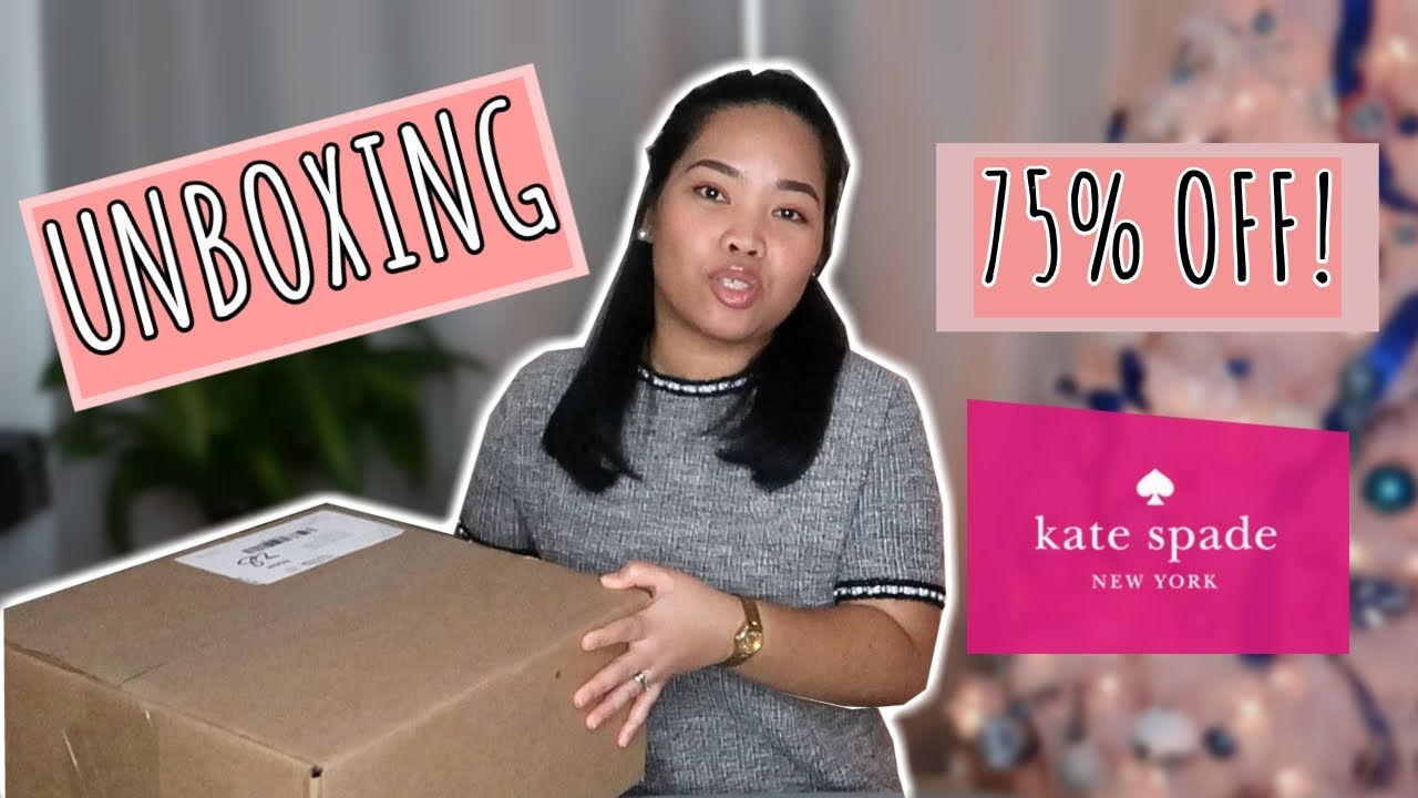 KATE SPADE UNBOXING | SURPRISE SALE | NOT AGAIN