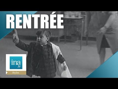 La rentrée des classes en 1967 | Archive INA