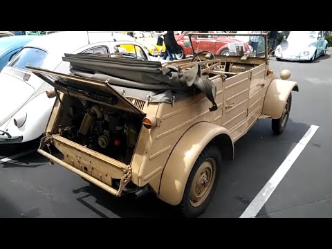 VW  kubelwagen and convertible hot VW cover car and german standard oval