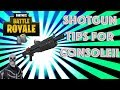 BEST SHOTGUN TIPS On CONSOLE!! (FORTNITE BATTLE ROYALE CONSOLE GAMEPLAY)
