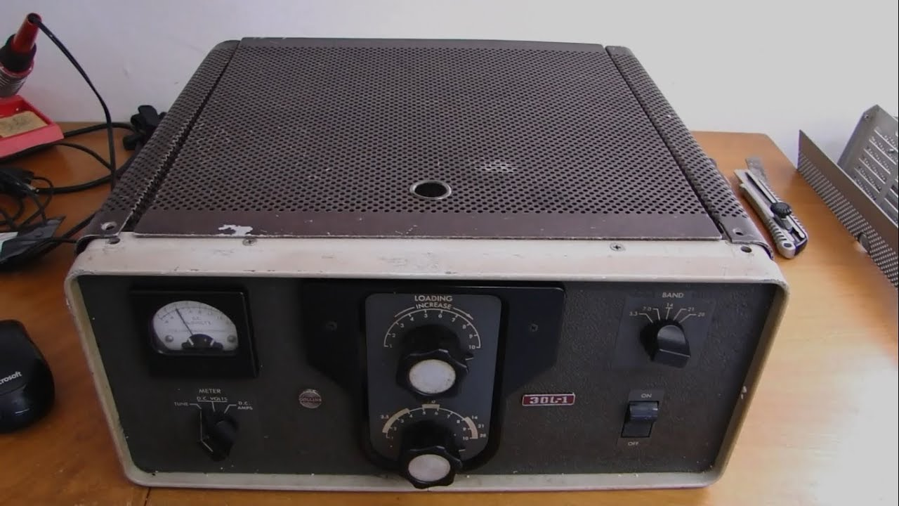 ALPHA TELECOM: RESTAURAÇÃO COMPLETA COLLINS 30L-1