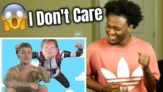 Ed Sheeran Justin Bieber I Don 39 t Care REACTION COVER.mp3