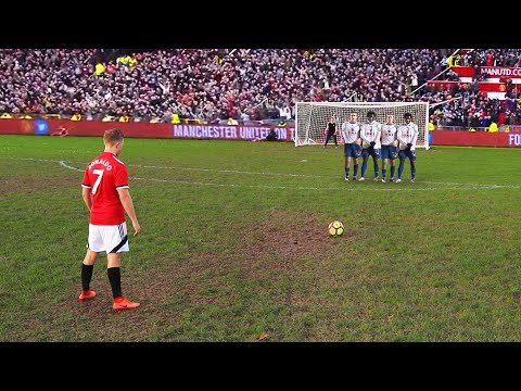 Perfectly Recreating Cristiano Ronaldo's Best Free Kick Ever