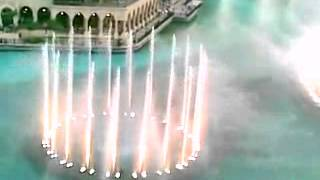 Dubai Fountain Show clubbed with Indo Arabic Song