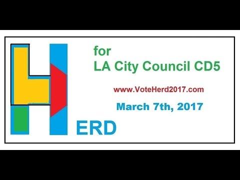 Mark Herd - Paul Koretz - Jesse Creed - Mar. 7th, 2017  www.VoteHerd2017.com