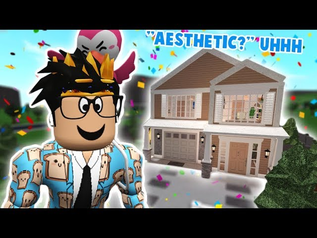 I Tried Building An Aesthetic Bloxburg House Did I Do This