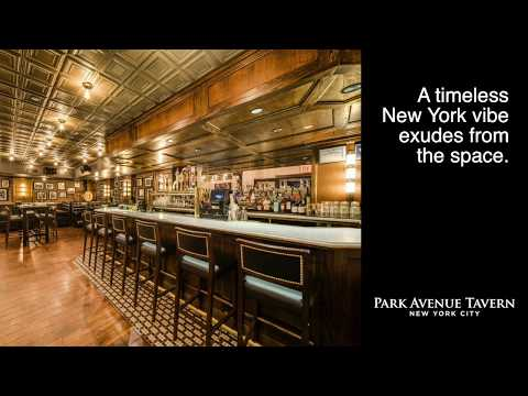 The best holiday event space near Grand Central Station NYC | Park Avenue Tavern's Barrel Room