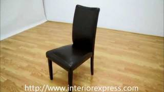 Interiorexpress Berreman Dark Brown Modern Dining Chair